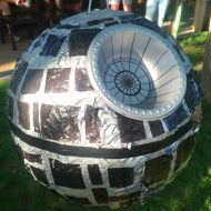 Easy DIY Star Wars Death Star Piñata
