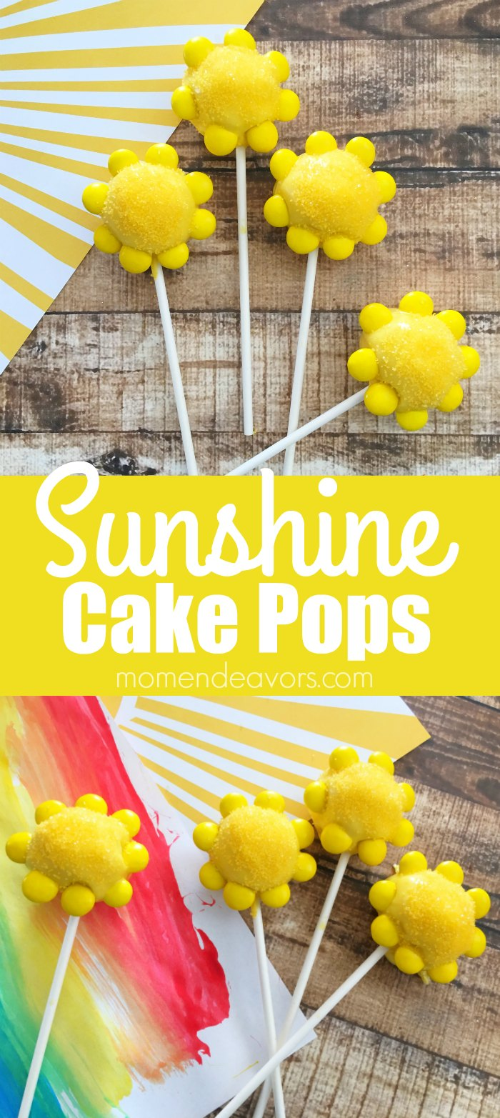 What would YOU make sunshine cake pops for?