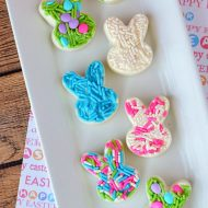 Easy White Chocolate Easter Bunny Candy