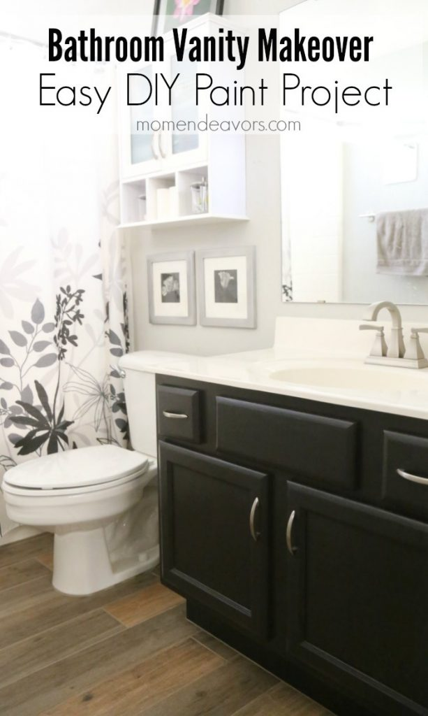 Bathroom Vanity Makeover - Easy DIY Home Paint Project