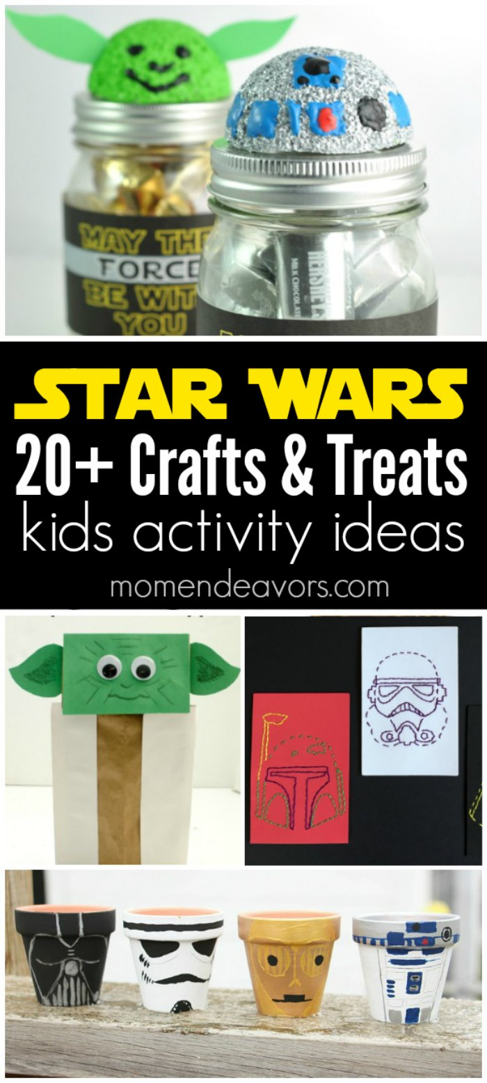 20 star wars diy crafts treats. Black Bedroom Furniture Sets. Home Design Ideas