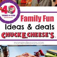Celebrate 40 Years of Chuck E. Cheese's Fun