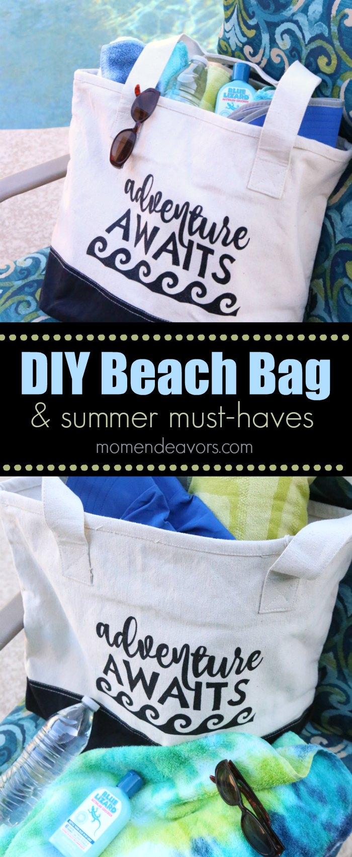 Summer Must Haves: DIY Beach Bag & Summer Fun Must-Haves