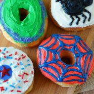 DIY Superhero Donuts