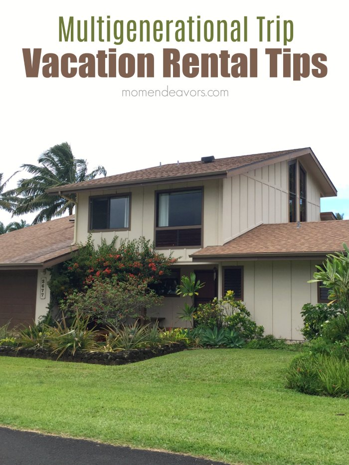 Multigenerational Trip Vacation Rental Tips