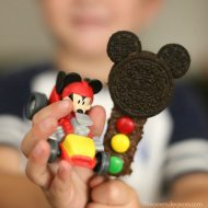 Mickey Stoplight Brownies