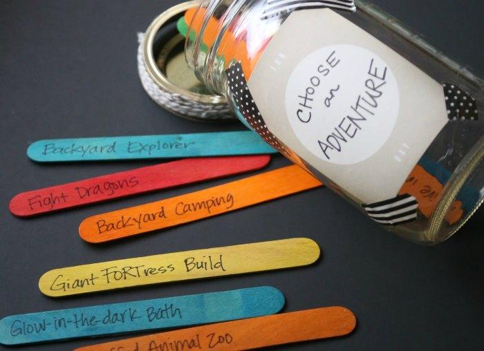 Choose An Adventure Activity Jar Mom Endeavors