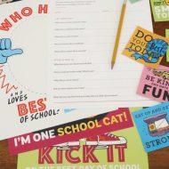 Fun FREE Back to School Printables!