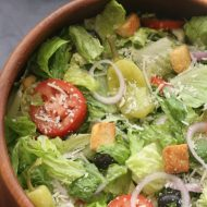 Easy Restaurant-Style Italian Salad