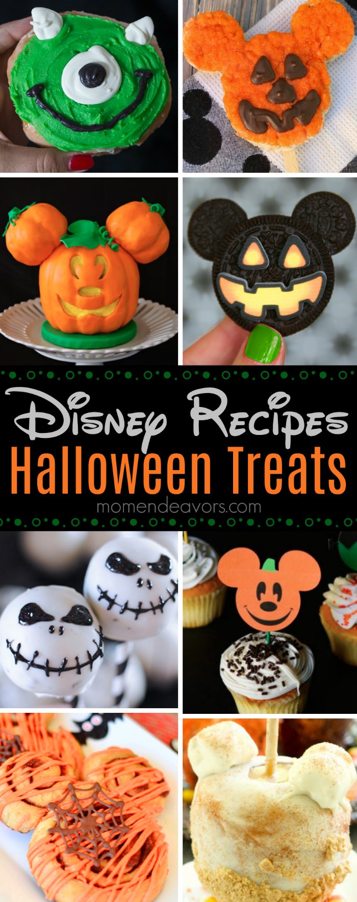 Disney Inspired Halloween Treat Recipes