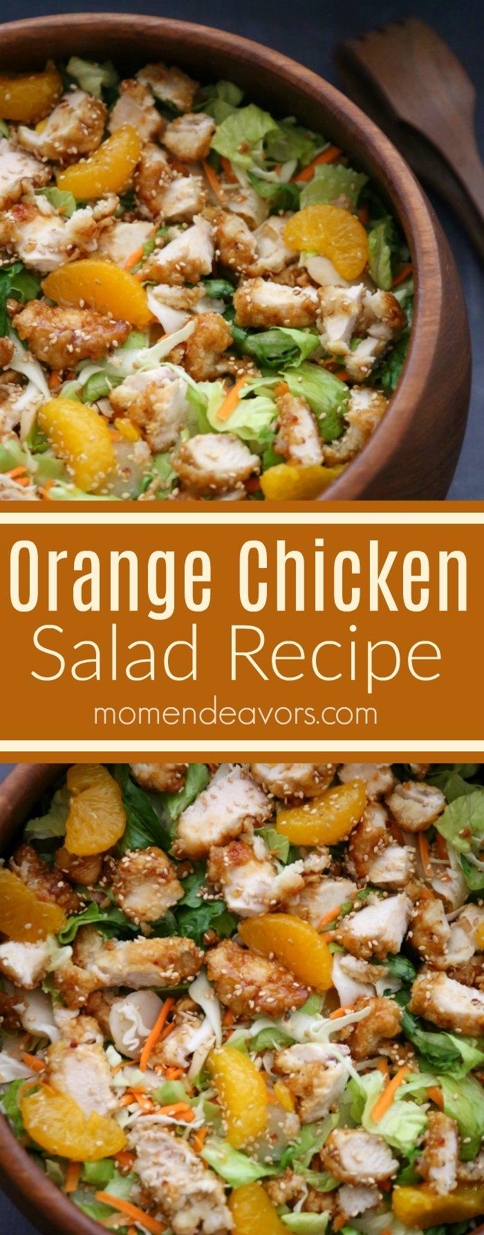 Easy Orange Chicken Salad Recipe