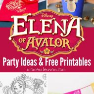 Elena of Avalor Party Ideas & Printables {Plus a Giveaway!!!!}