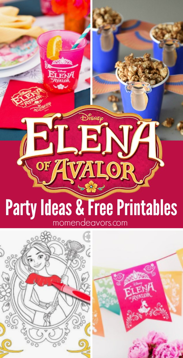 elena of avalor party ideas printables plus a giveaway
