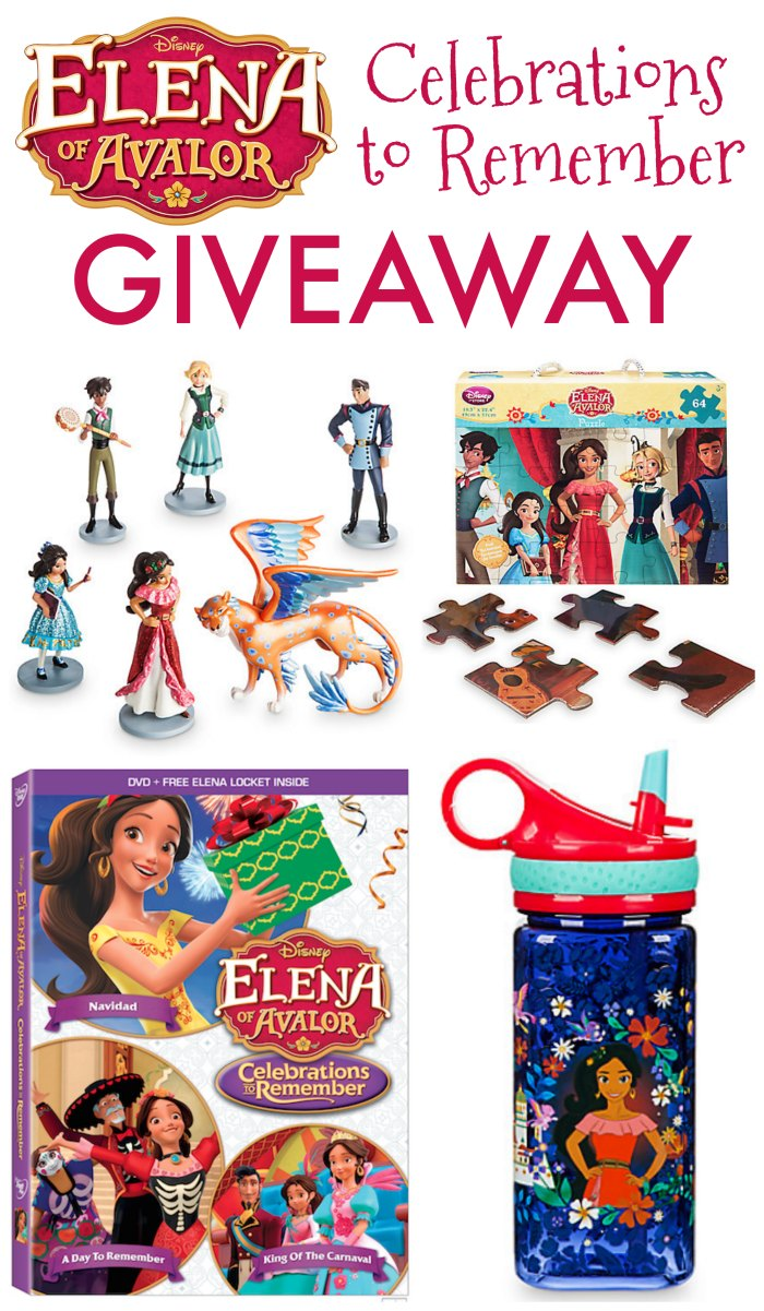 Elena of Avalor Priza Giveaway