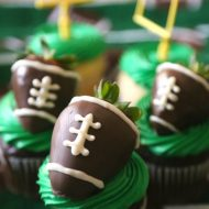 Fun Football Cupcakes for Game Day
