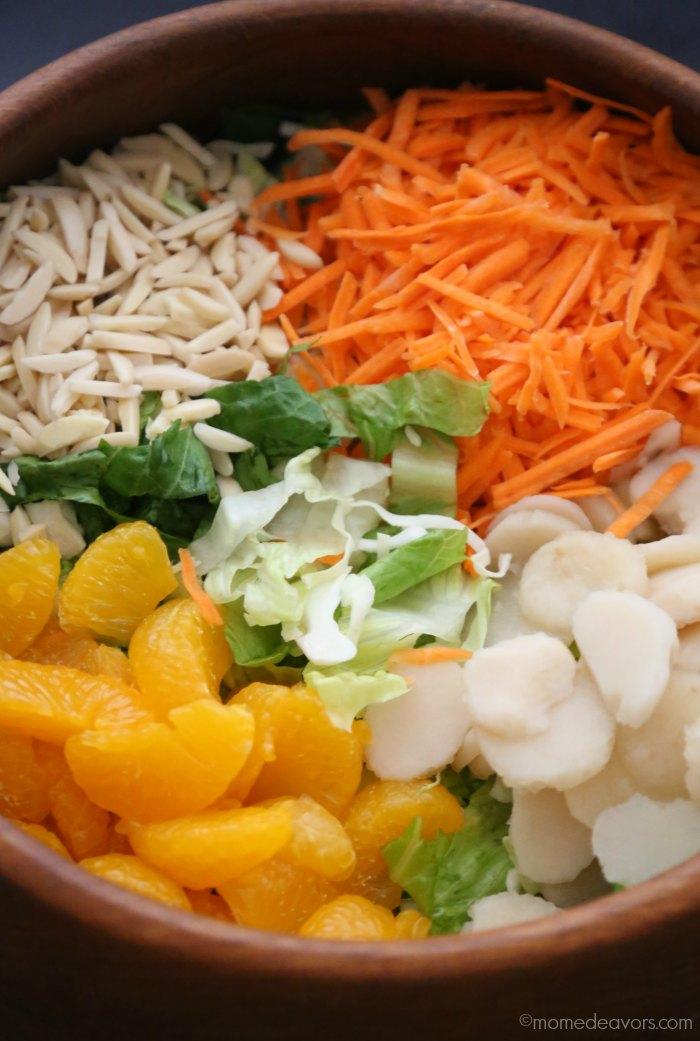 Mandarin Orange Chicken Asian Salad