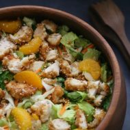 Easy Orange Chicken Salad Recipe