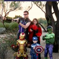 Fun Avengers Family Costumes