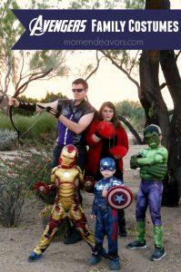 Avengers Family Costumes