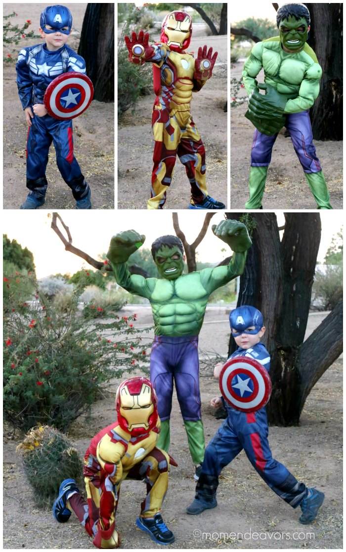 Avengers Kids Halloween Costumes