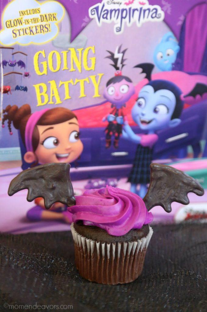 Bat Wing Disney Vampirina Cupcakes