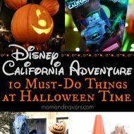 Disney California Adventure 10 Must-Do Things at Halloween Time