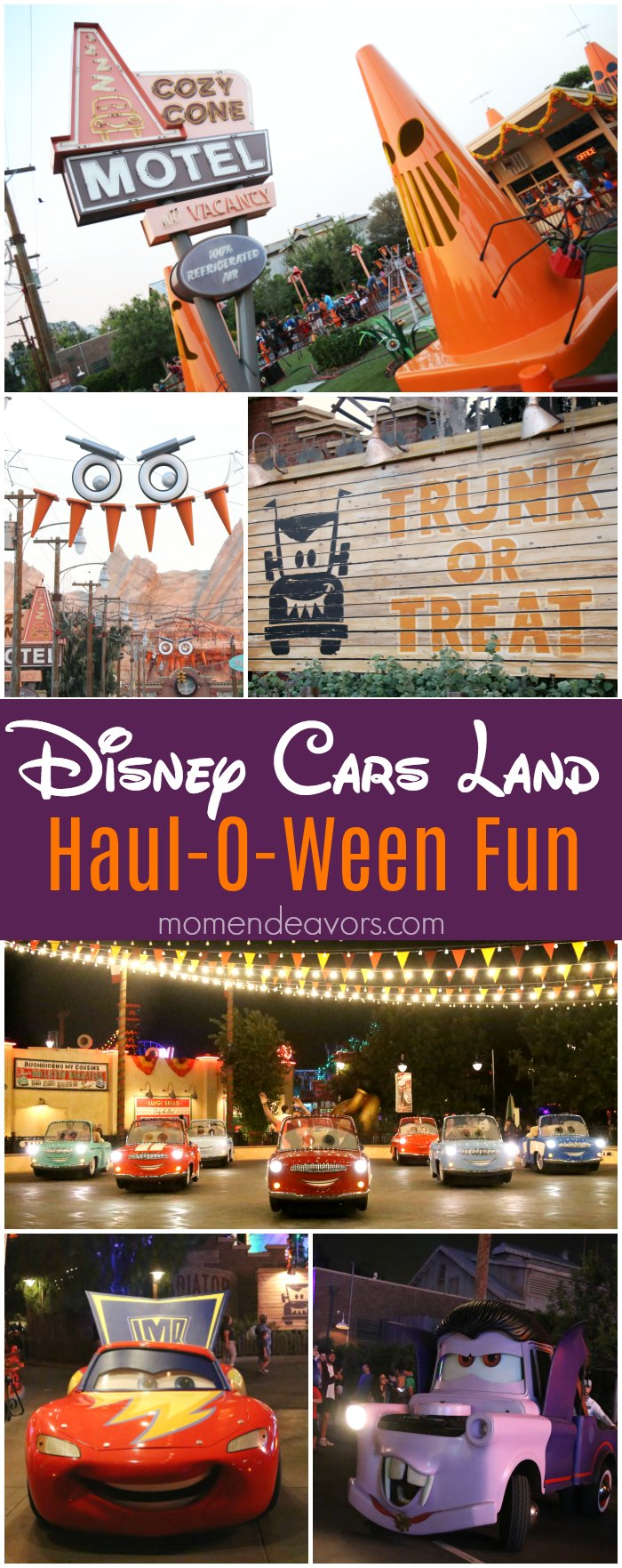 Disney Cars Land Halloween Fun