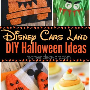 Disney Cars Land Halloween Recipes & Crafts