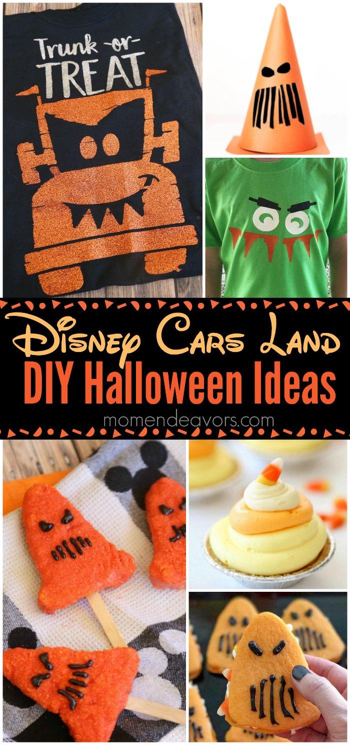 Disney Cars Land Halloween Recipes & Crafts
