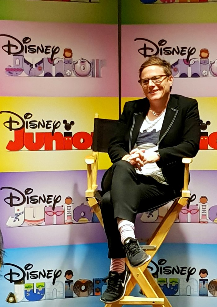 Disney Junior Vampirina Chris Nee Interview