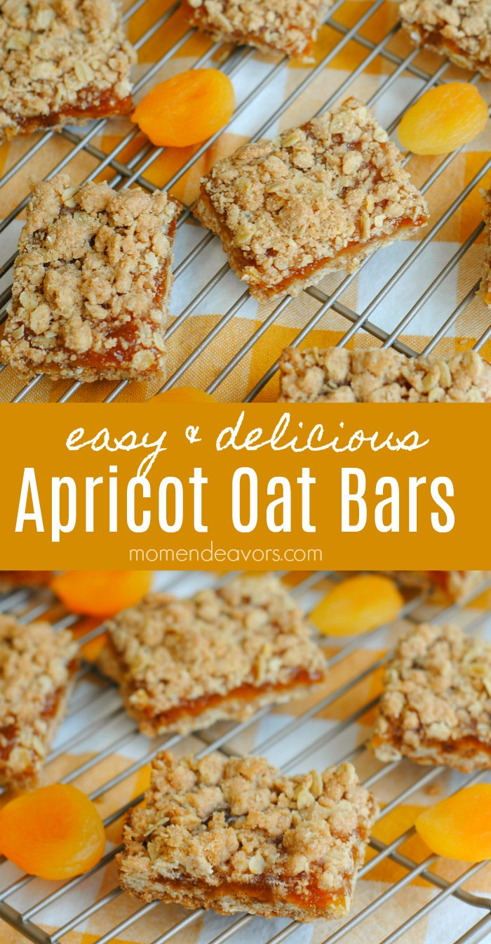 Easy Apricot Oat Bars Recipe