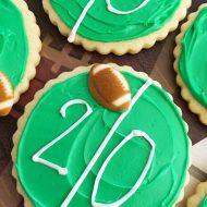 Football Field Cookies
