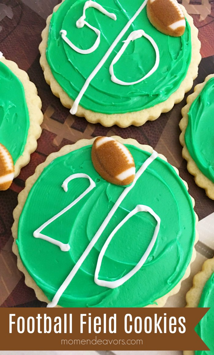 Football Field Cookies