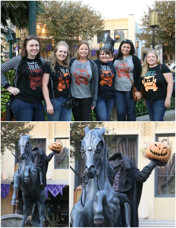 Headless Horseman Statue Photo Opp