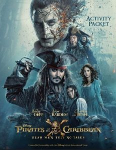 Pirates of the Caribbean Activity Packet