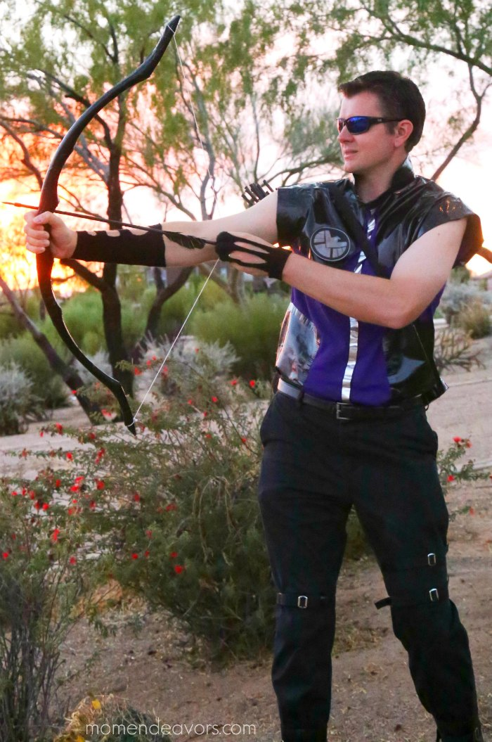 Simple DIY Avengers Hawkeye Costume