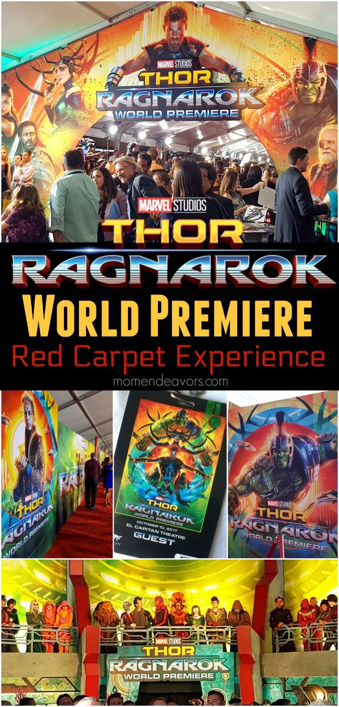 Thor Ragnarok World Premiere Experience
