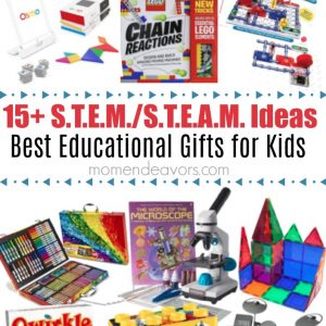 Best Educational S.T.E.A.M Gifts for Kids
