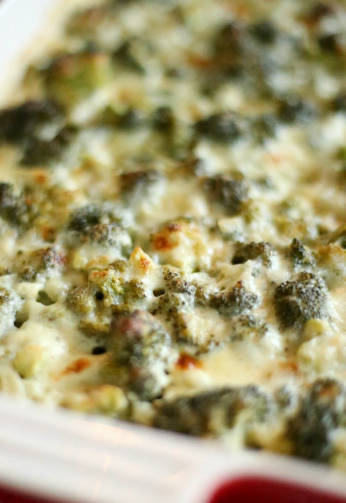 Cheesy Broccoli Bake