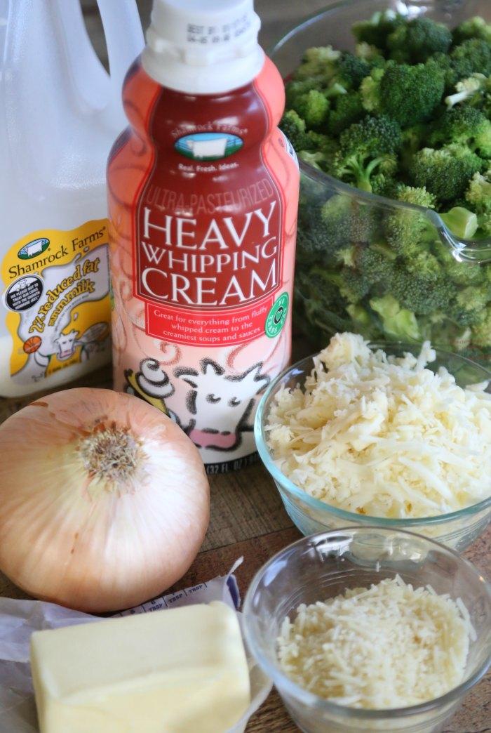 Cheesy Broccoli Ingredients