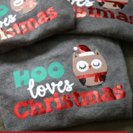 Cute Kids' Christmas Shirts + Cricut Cut File