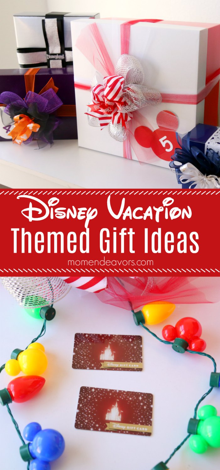 Disney vacation gift ideas disney gift card giveaway disney vacation themed gift ideas negle Image collections