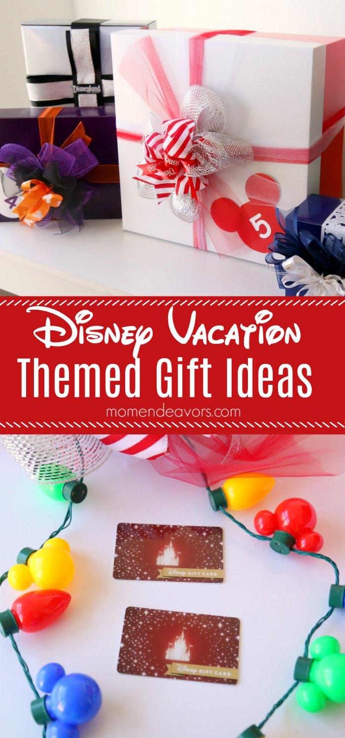 Disney Vacation Themed Gift Ideas