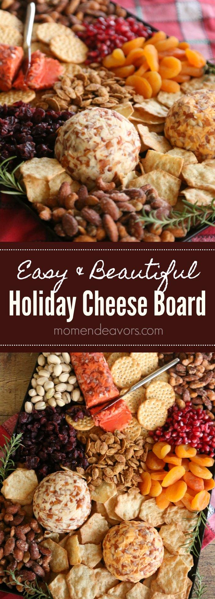 Easy & Beautiful Holiday Cheese Board