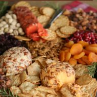 Easy & Beautiful Holiday Cheese Board