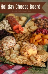 Easy Holiday Cheese Board