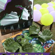 Hulk Smash Superhero Party Activity