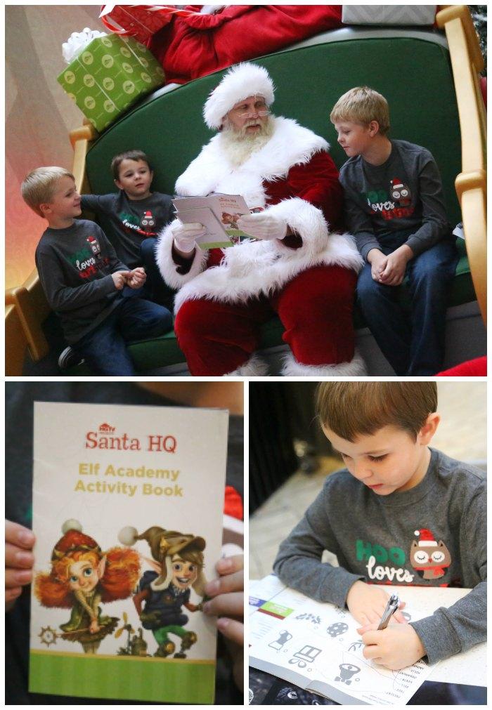 Santa HQ Elf Academy Boo