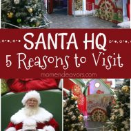 5 Reasons to Visit Santa HQ for Santa Photos