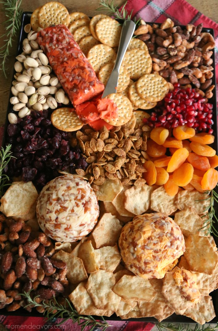 Thanksgiving Cheese Board Appetizer